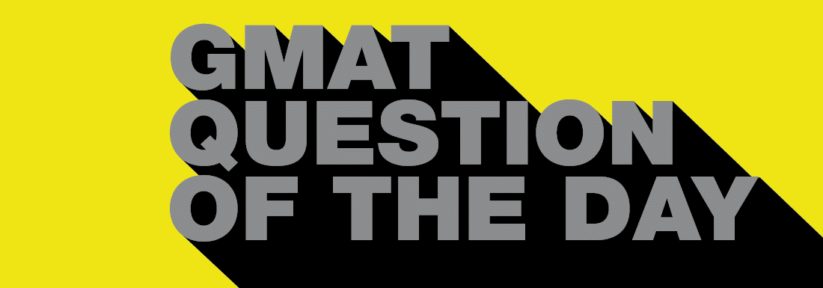 GMAT Question of the Day – PS –  Work/Rate 4