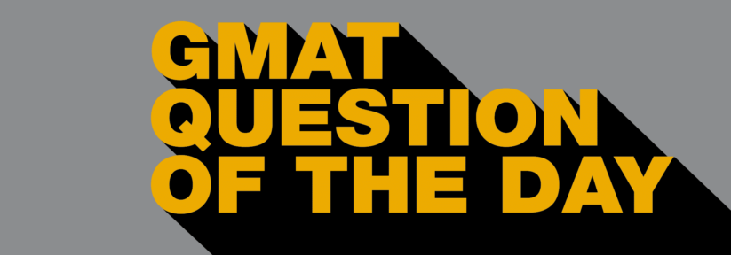 GMAT Question of the Day – PS – Work/Rate 2