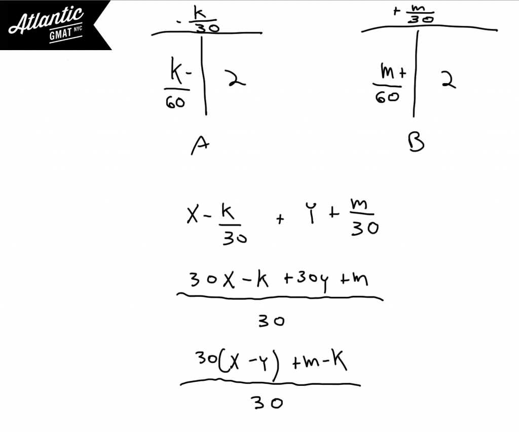 GMAT Question of the Day Problem Solving Work and Rate Solution 4 Diagram