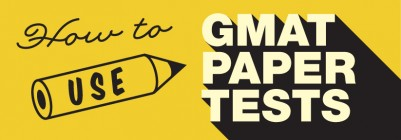 GMAT Paper Tests