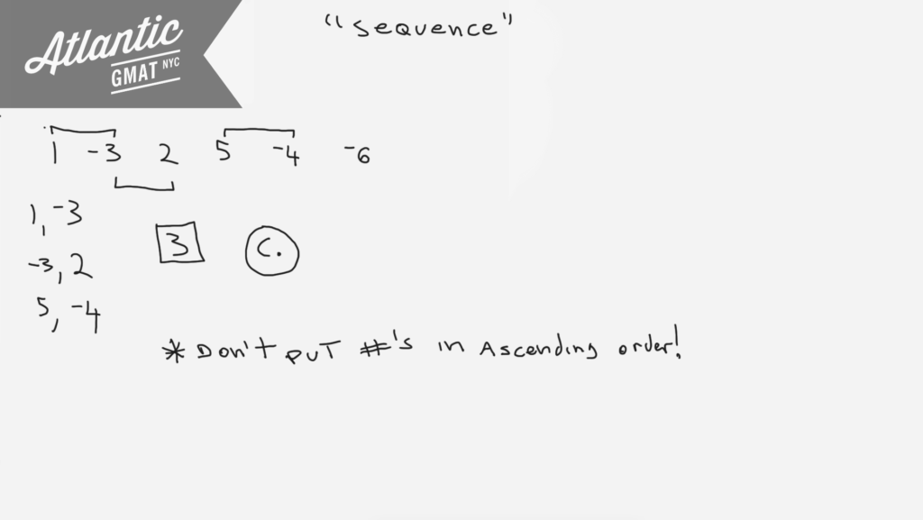 For a finite sequence of non zero numbers the number of variations in sign is defined as the number of pairs of consecutive terms of the sequence for which the product of the two consecutive